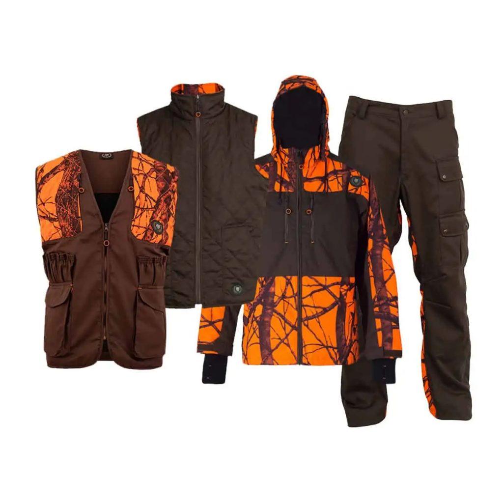 Lovacki jakna, pantalone, prsluk